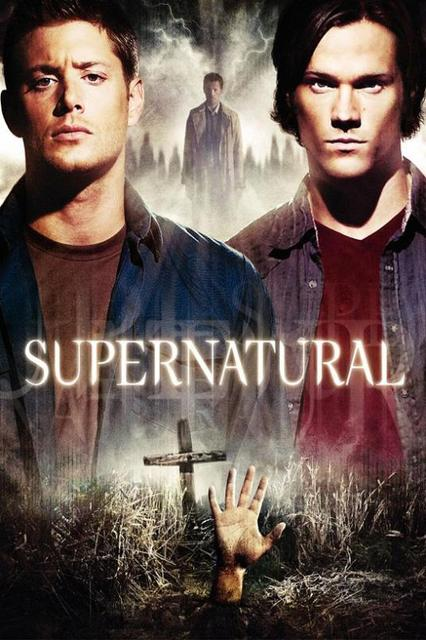 Supernatural Tv Series Silk Canvas Wall Posters Hd Large Modern Home