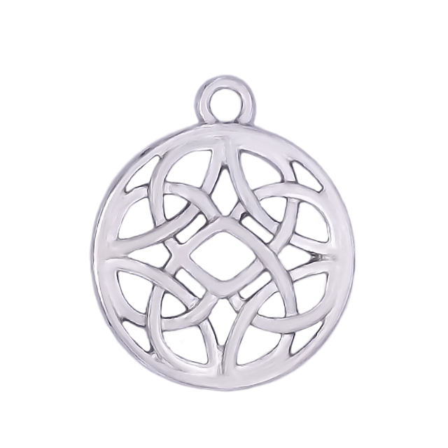 Disk wicca necklace pendants fashion metal alloy ireland knot disk wicca necklace pendants fashion metal alloy ireland knot religious pendant personalized custom made aloadofball Images
