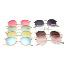 Peekaboo blue tinted sunglasses men green thin metal yellow clear sun glasses for women gold frame uv400