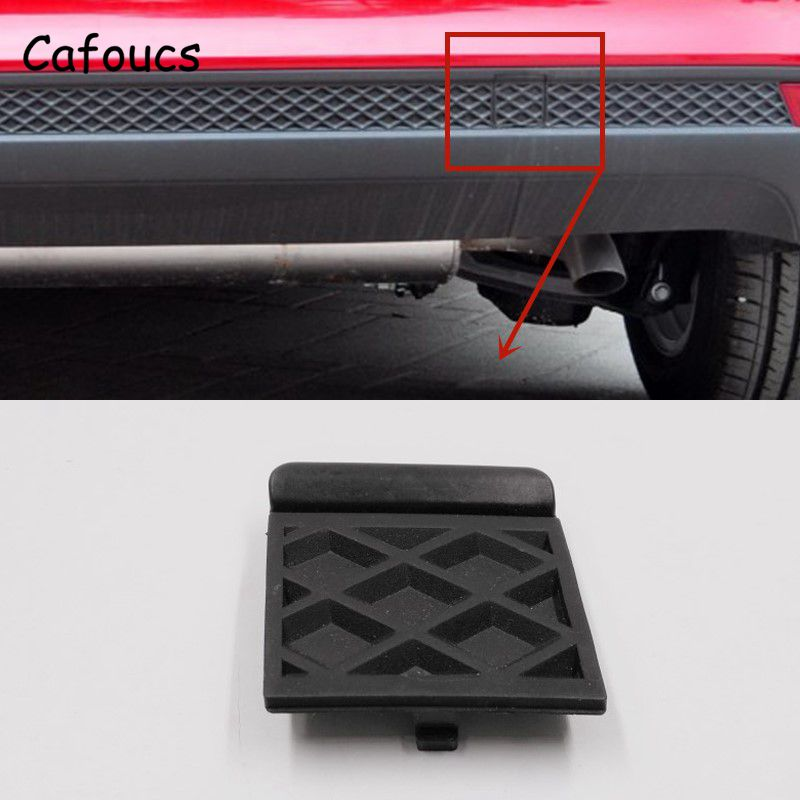 Cafoucs For Ford Focus 3 Sport Rear Bumper Towing Hook Cap BM51-F17K922-A 2012 2013 2014 Accessories
