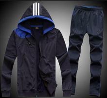 Мужская спортивная куртка с капюшоном с капюшоном Спортивный спортивный костюм с длинным рукавом Bay
