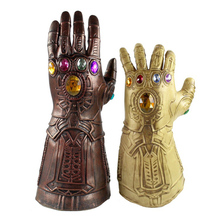 Infinity Gauntlet Avengers War  Mask Gloves Cosplay Superhero Thanos Glove Halloween Party Props TOYS