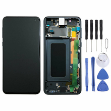 Original AMOLED LCD for SAMSUNG Galaxy S10e Display Touch Screen Digitizer with Frame Replacement LCD G970 Display original amoled lcd for samsung galaxy s10 plus display touch screen digitizer with frame replacement lcd g975 display