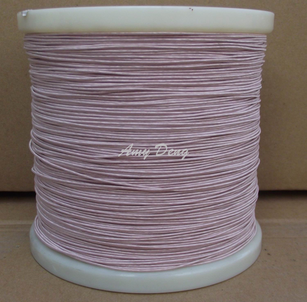200meters lot Free shipping 0 1x15 shares its antenna litz wire strands of copper wire is