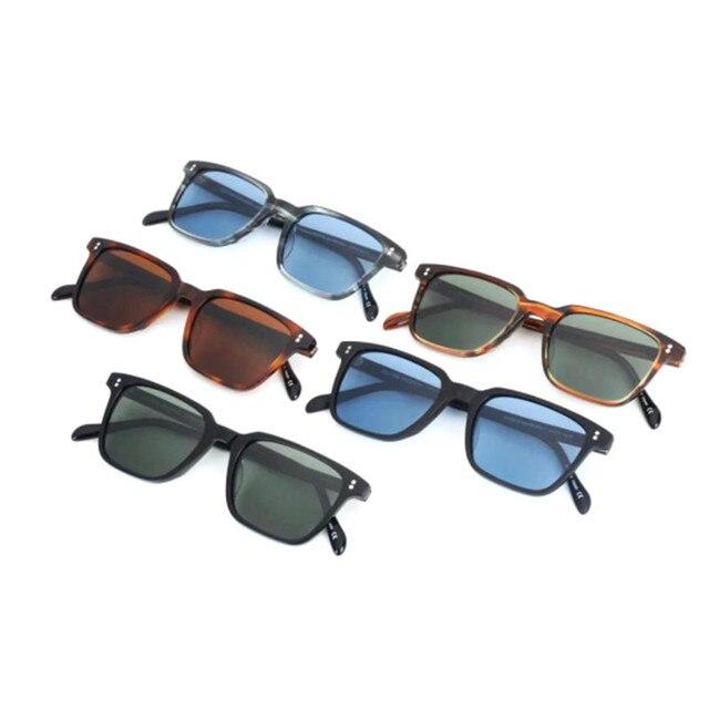 949179e30 Importado sunlens NDG OV5031 Acetato praça óculos de sol Do Vintage das  mulheres dos homens polarizados