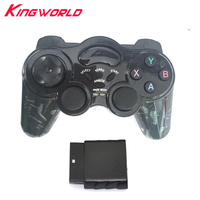 2pcs 2 4G Wireless Game Controller Joystick Gamepad For Playstation 2 For Sony For Ps2 Special