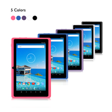 "IRULU 7 ""Tablet Android 6.0 eXpro X3 1 GB RAM 16 GB ROM Quad Core 1.3 GHz WIFI OTG 1024*600 HD Google APP Juego 2800 mAh Tablet PC"
