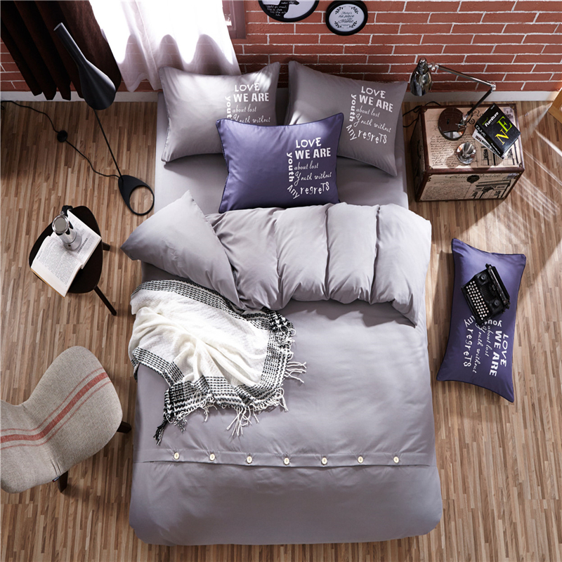 home textile duvet cover bed sheet pillowcases twin full queen king super king