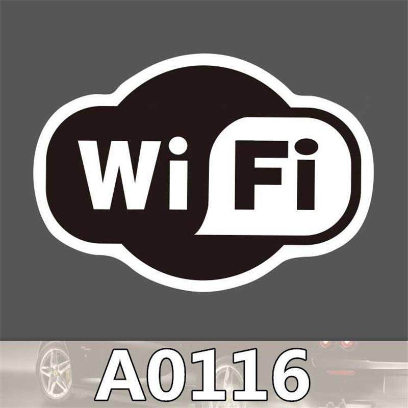 A0116 Wifi Anime Punk Cool Aufkleber Für Auto Laptop Gepäck