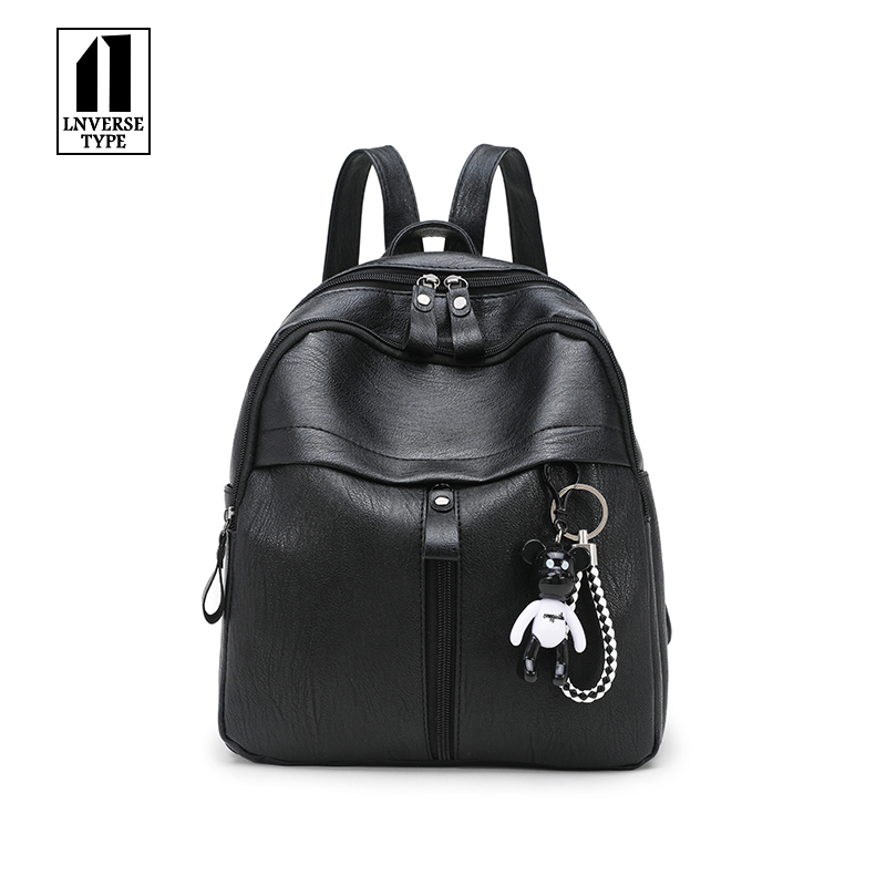 High Quality Youth Leather Backpacks for Teenage Girls Fashion Women Backpack Female School Shoulder Bag Female Backpacks summer