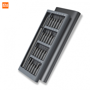 Image 3 - オリジナル Xiaomi Mijia ツールメーカー 24 1 精密スクリュードライバーキットで 60HRC 磁気ビット Xiaomi ホームキット修復ツール xiomi Xaomi
