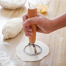 Круглый пельмени штамп паста резак DIY пельмени домашний кондитерский аксессуар для приготовления равиоли формовочный пресс для пельмени прессформы 6,5 см