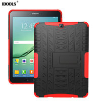 IDOOLS For Samsung Galaxy TAB S2 9.7 Case Hard PC TPU Hybrid Coque With Stand Tablet Cases For Samsung Galaxy TAB S2 9.7 T810