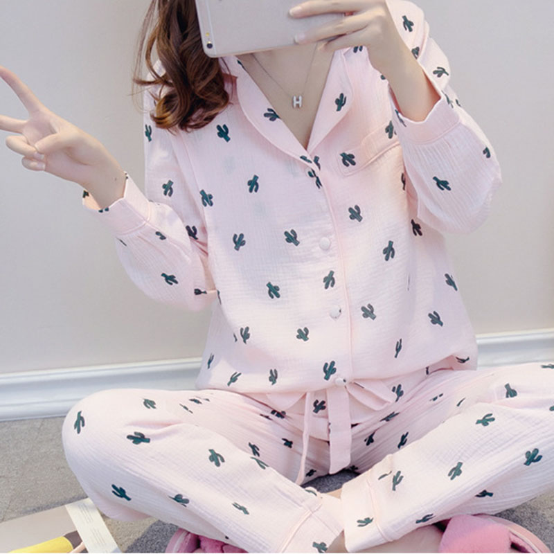 Comfort Summer Cotton Long Sleeve Nursing Clothes Winter Nursing Pajamas Pregnant Pyjama Breastfeeding Pregnancy Nightgrown A027