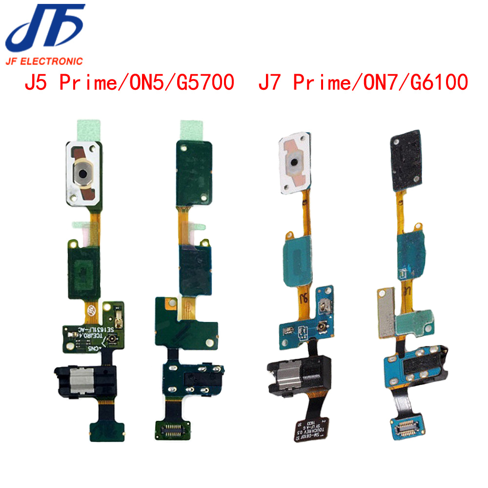 for Samsung Galaxy ON5 J5 Prime G5700 ON7 J7 Prime G6100 home button flex cable with