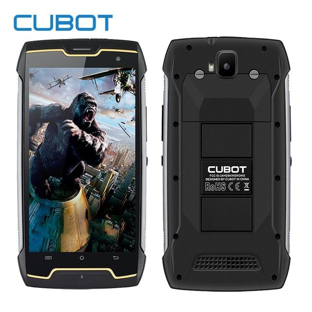Original Cubot Kingkong IP68 étanche antichoc 4400 mAh téléphone mobile MT6580 Quad Core Andriod 7.0 2 GB RAM 16 GB ROM Smartphone
