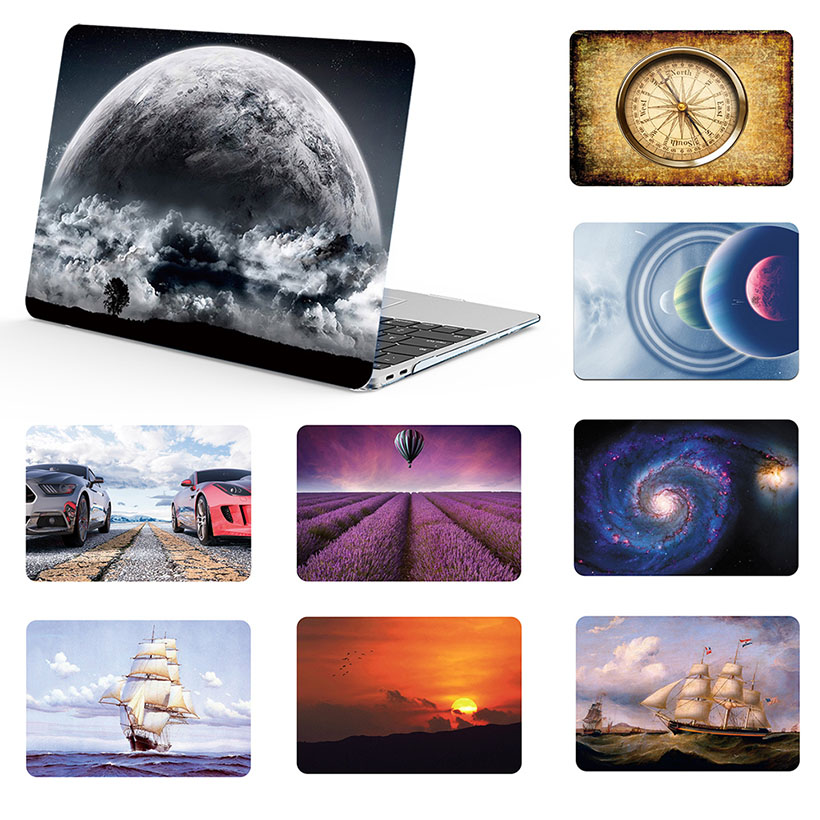 Pattern Painting Laptop Shell Case For Macbook Air 11 13