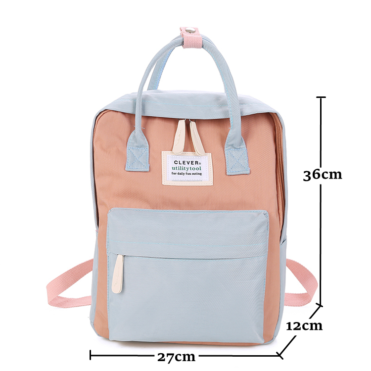 Backpack Ladies Leather Bag Leather Casual Large Capacity Travel Backpack Student Bag Backpack 29/×15/×36CM Multipurpose Daypacks