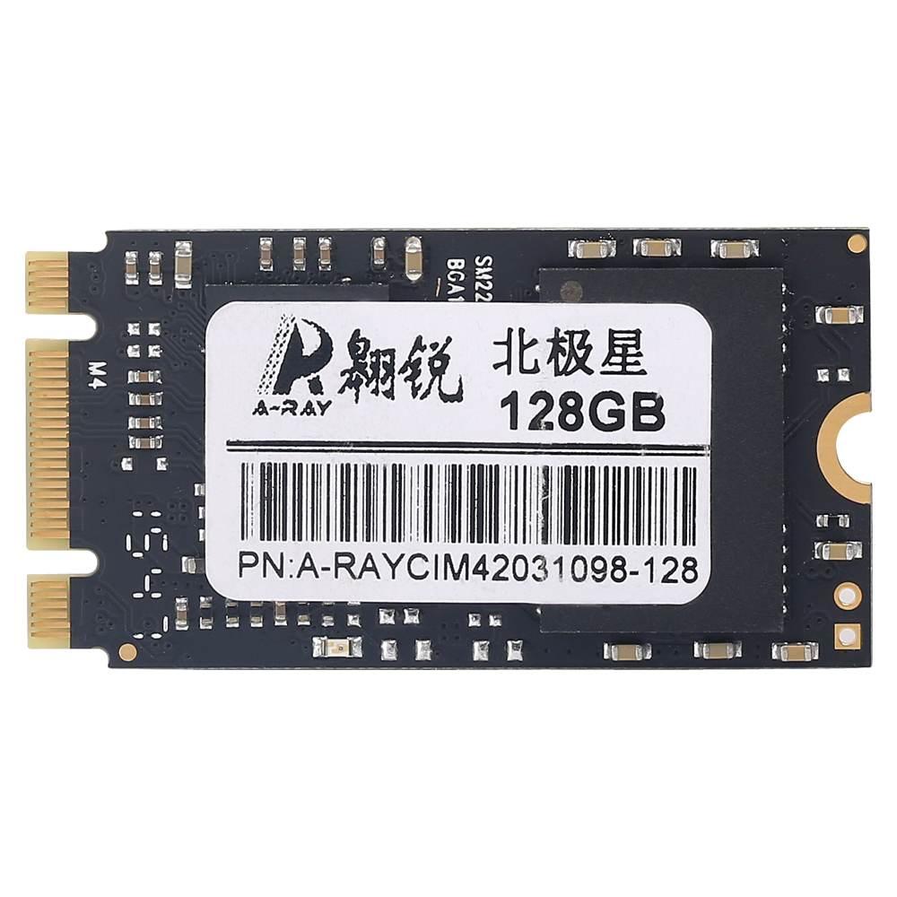 ARAY 2242 128 GB disques à semi-conducteurs internes haute vitesse taux de lecture en écriture SATAIII interface disque dur à semi-conducteurs interne
