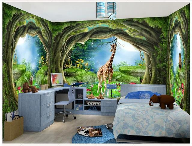 Comprar custom 3d papel tapiz para paredes for Murales de pared