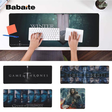 Babaite Your Own Mats Game of Thrones  Silicone large/small Pad to Mouse Free Shipping Large Keyboards Mat