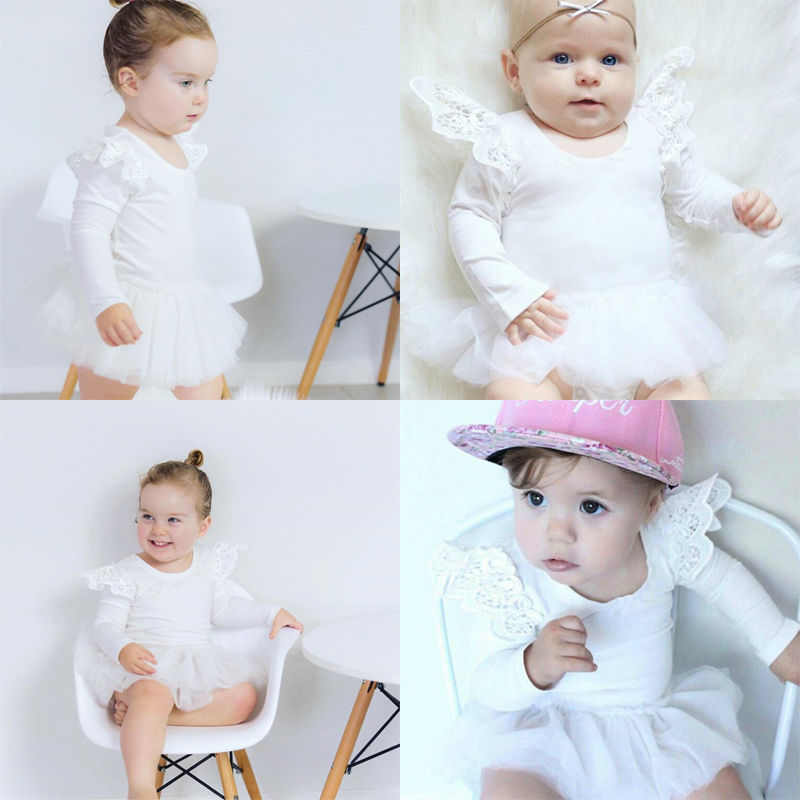 Newborn-Toddler-Baby-Girls-One-Piece-Romper-Tutu-Dress-Clothes-Lace-Outfits-3