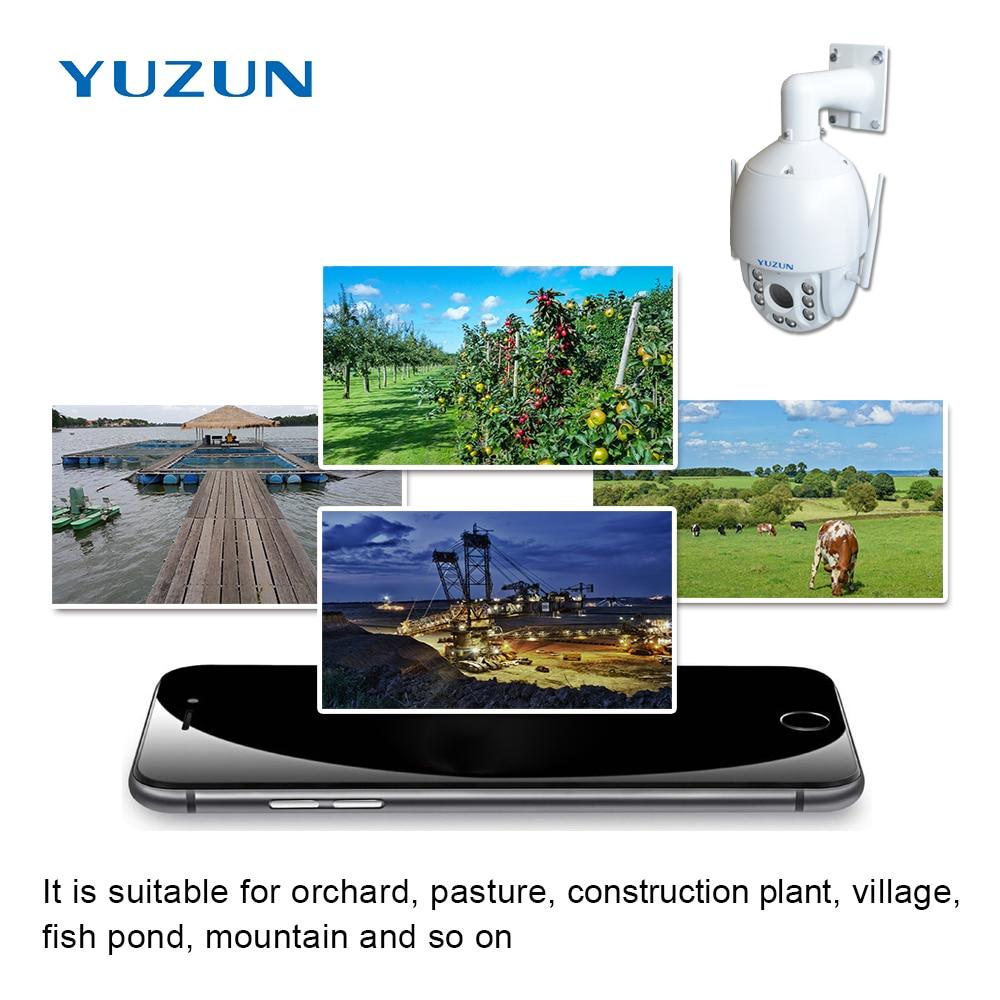 Купить с кэшбэком 3g 4g sim card ip ptz cctv camera 18x zoom varifocus zoom outdoor speed dome 4g lte security camera with 150M ir distance