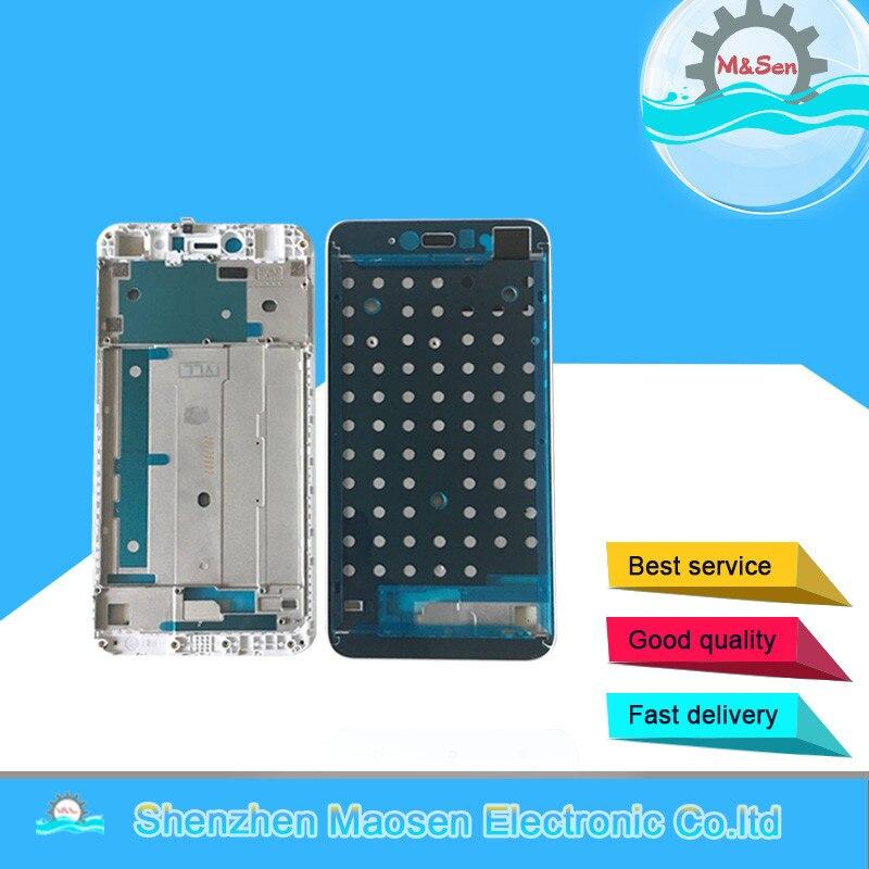 M & Sen Pour 5.5 Xiaomi Redmi Note 5A Redmi Y1 Lite/Y1 Avant lunette cadre Moyen cadre logement Blanc/Noir livraison gratuite