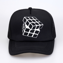 Hot Sale Summer Rubik Cube Baseball Cap New Fashion Stylish Design Sitcoms The Big Bang Theory Women Men Casual Trucker Cap Hat stylish golden praying hands shape embellished men s baseball cap