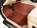 Classe C C180 dois-tapetes de carro esporte porta para Mercedes C180 completo almofadas de surround double-porta coupe two-door mat 13 tapetes de carro C180
