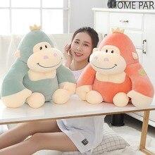 35/45cm Cute Soft Gorilla Plush Plump Kingkong Animal Toys For Children Birthday Gift