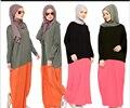 Плюс размер Абая одежда турции мусульманских женщин платье фотографии исламские jilbabs и abayas платья турецкий халат Абая Кафтан Q1918