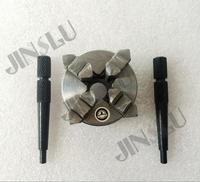 lathe chuck jaw self centering the stingy chuck k02 65mm Connecting thread(M14x1)3 Four Jaws
