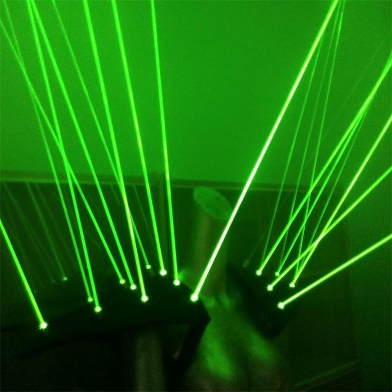 Yeni gəlmiş Yaşıl lazer robot kostyumu, yüngül - Şənlik aksesuarları - Fotoqrafiya 2