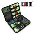 BUBM waterprof caso Drives Flash USB Disco Rígido Cabos do Fone de Ouvido Caso Saco de Viagem Digital Eletrônica L XL 2XL
