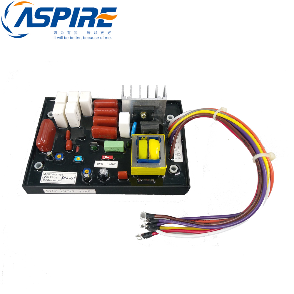 AVR DST-51-DFK Automatic Voltage Regulator for Yamaha Generator EDL Series 13000TE 26000TE 10kw 380v 3 phase hj 5k3p28 bx avr three phase automatic voltage regulator for china generator free shipping