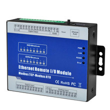 RJ45 Ethernet vers RS485 convertisseur Modbus TCP vers Modbus RTU Module IO à distance avec 8 sorties relais conception isolée 12-36V DC M320T(Hong Kong,China)