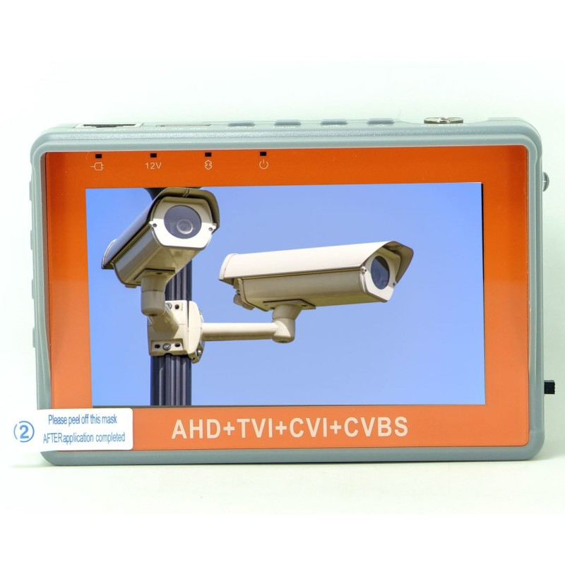 New Version 4 3 Inch Coaxial HD Camera Tester IV7W 5MP AHD TVI CVI CVBS CCTV