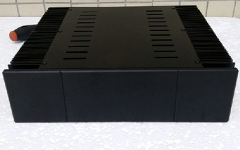 1969 black version. pass all aluminum power amplifier chassis (320 * 90 * 268)