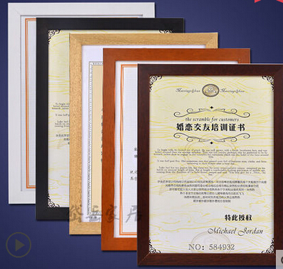 2016 limited special offer 10 inch photo frames or picture frame quadros thickening brief solid