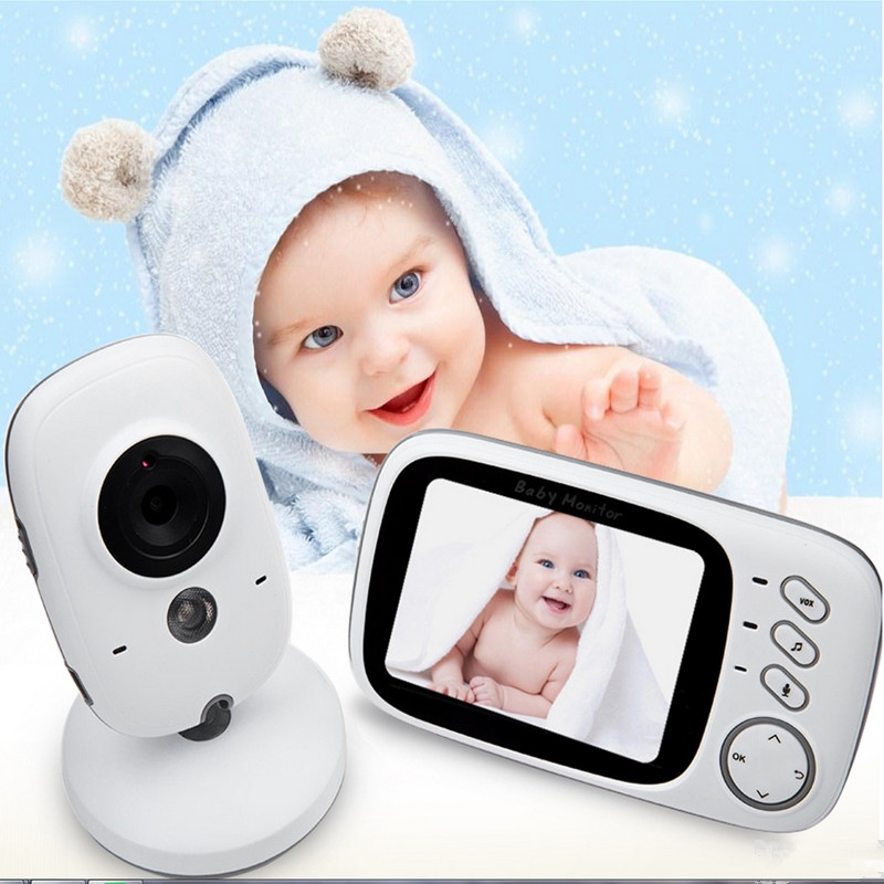 Fimei VB603 3.2 inch Wireless Video Color Night vision Baby Monitor Camera Baby Sleep Nanny Security video camera LCS Monitor цена