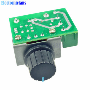 10 teile/los 2000W 50-220V AC 25A SCR Motor Speed Controller Einstellbare PWM Spannung Regler Temperatur Motor schalter Modul