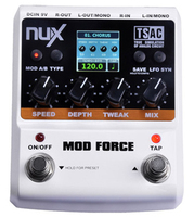 NUX MOD FORCE Force Series Stomp Boxes Guitar Effect Pedals Multi Modulation Effects