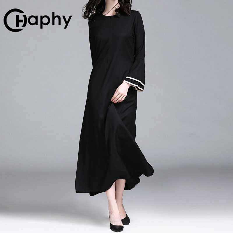 e5edf2e2929 ... Расклешенный рукав Мусульманский платье для молитвы Инди фолк  мусульманский А-силуэт большие качели платье для ...