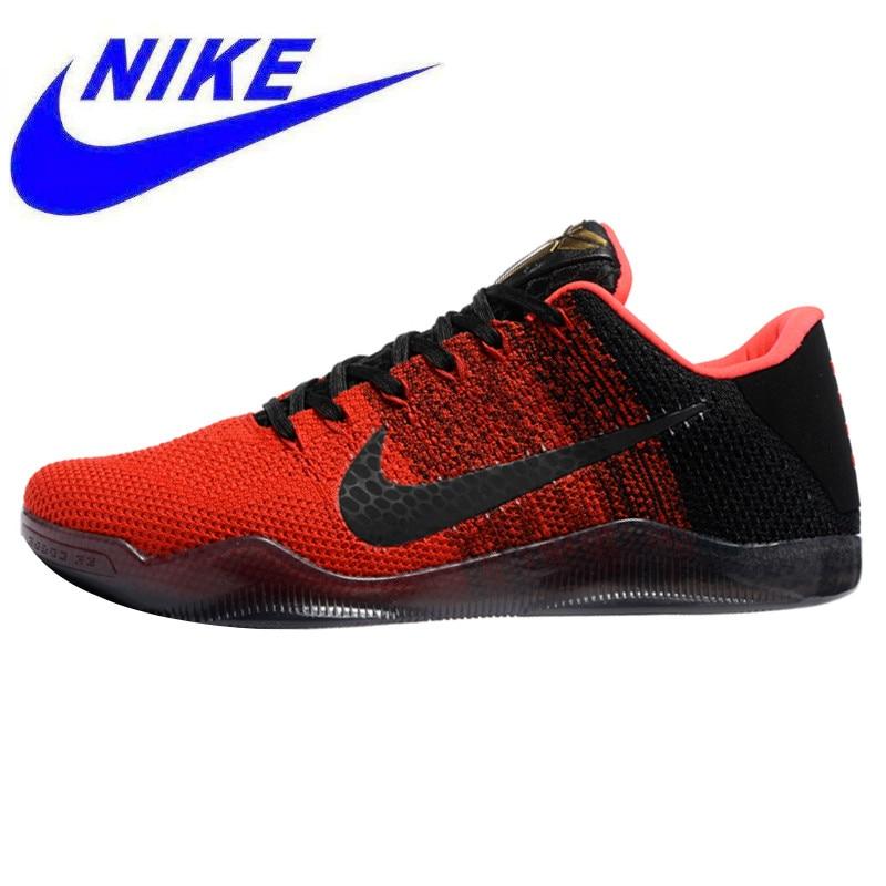 a099e564bf7 Breathable Nike Kobe 11 Elite Low Bruce Lee Men s Basketball Shoes ...