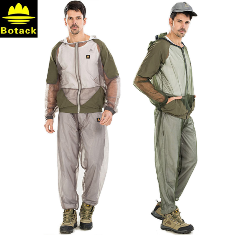 Outdoor Anti Mosquito Clothing Fishing Suit Breathable Anti Bee Fishing Clothes Quick-drying Fishing Hats and Caps for Men sports caps baseball hats for fall summer quick drying hat men and women outdoor