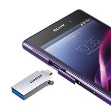 Free shipping SAMSUNG USB 3 0 OTG USB Flash Drive Memory Stick Storage Device U Disk