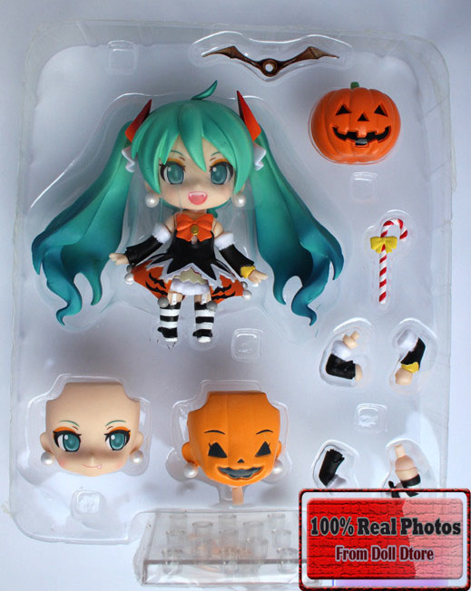 10CM Japanese Anime Nendoroid Hatsune Miku Halloween Ver 448 PVC Action Figure Model Collection Toy 4