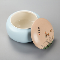 Tea Cans Caddy Tampion Cereals Flower Tea Food Storage Sealed Cans Storage Jars with Bamboo Cap H001