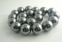 18mm Grade A Qualität Natürliche Hämatit Runde Perlen